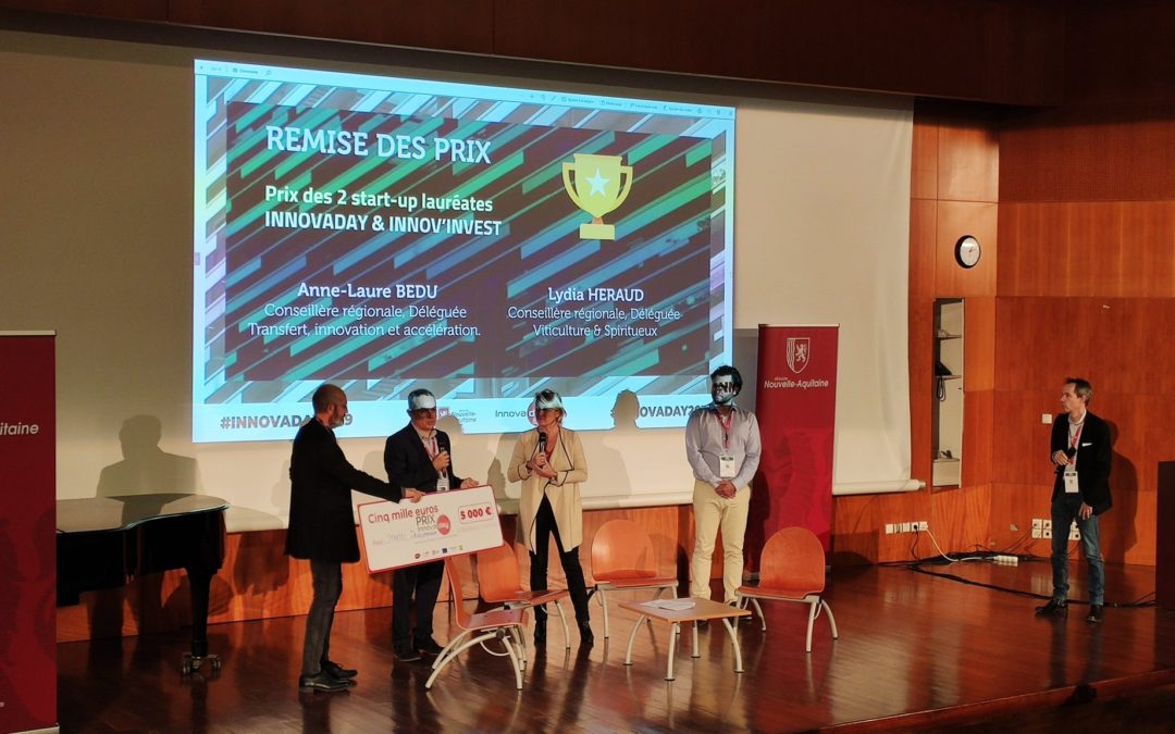 Notre groupe reçoit le prix Innovaday